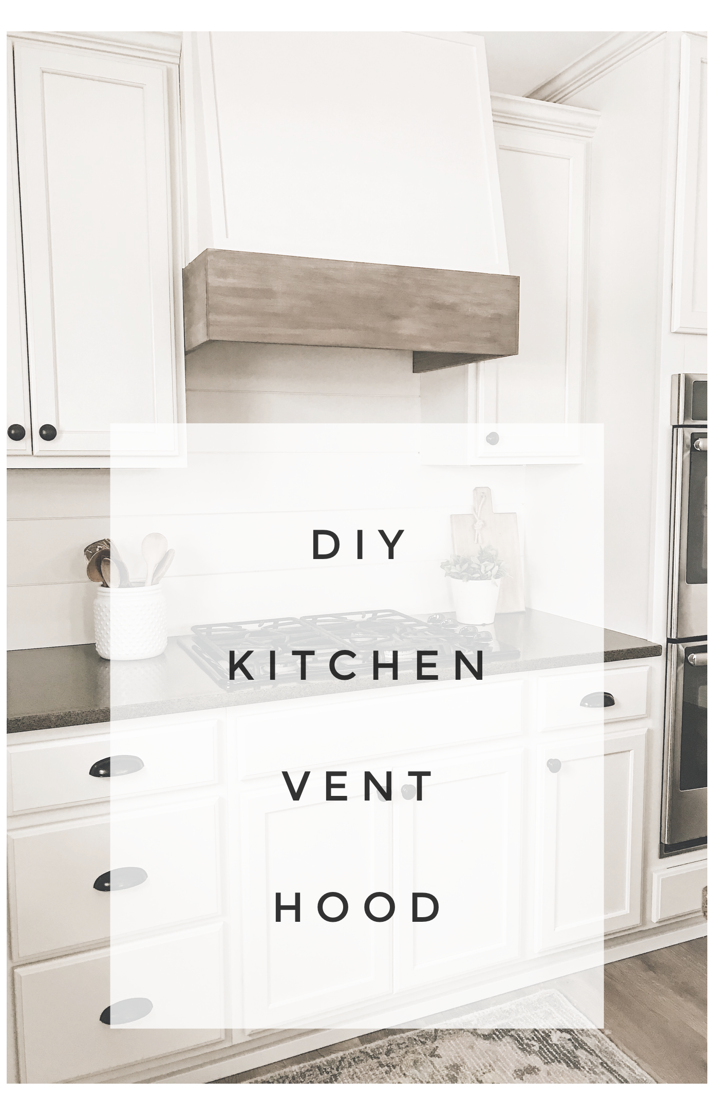 diy kitchen vent hood modern farmhouse kitchen