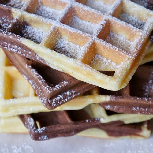 Photo of RECIPE: gluten-free curd waffles