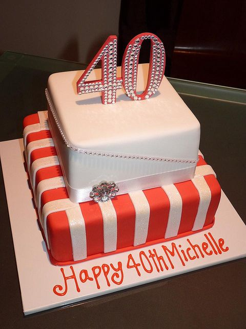 Outstanding 40Th Birthday Cake 40Th Birthday Cakes Birthday Cake Cake Funny Birthday Cards Online Inifodamsfinfo