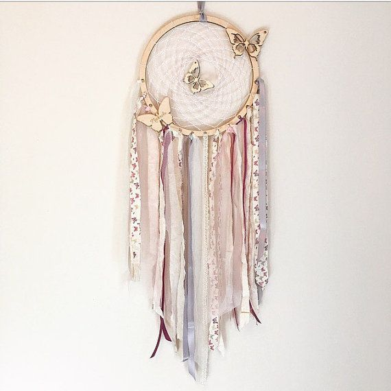 Personalised wooden shape Dream catcher