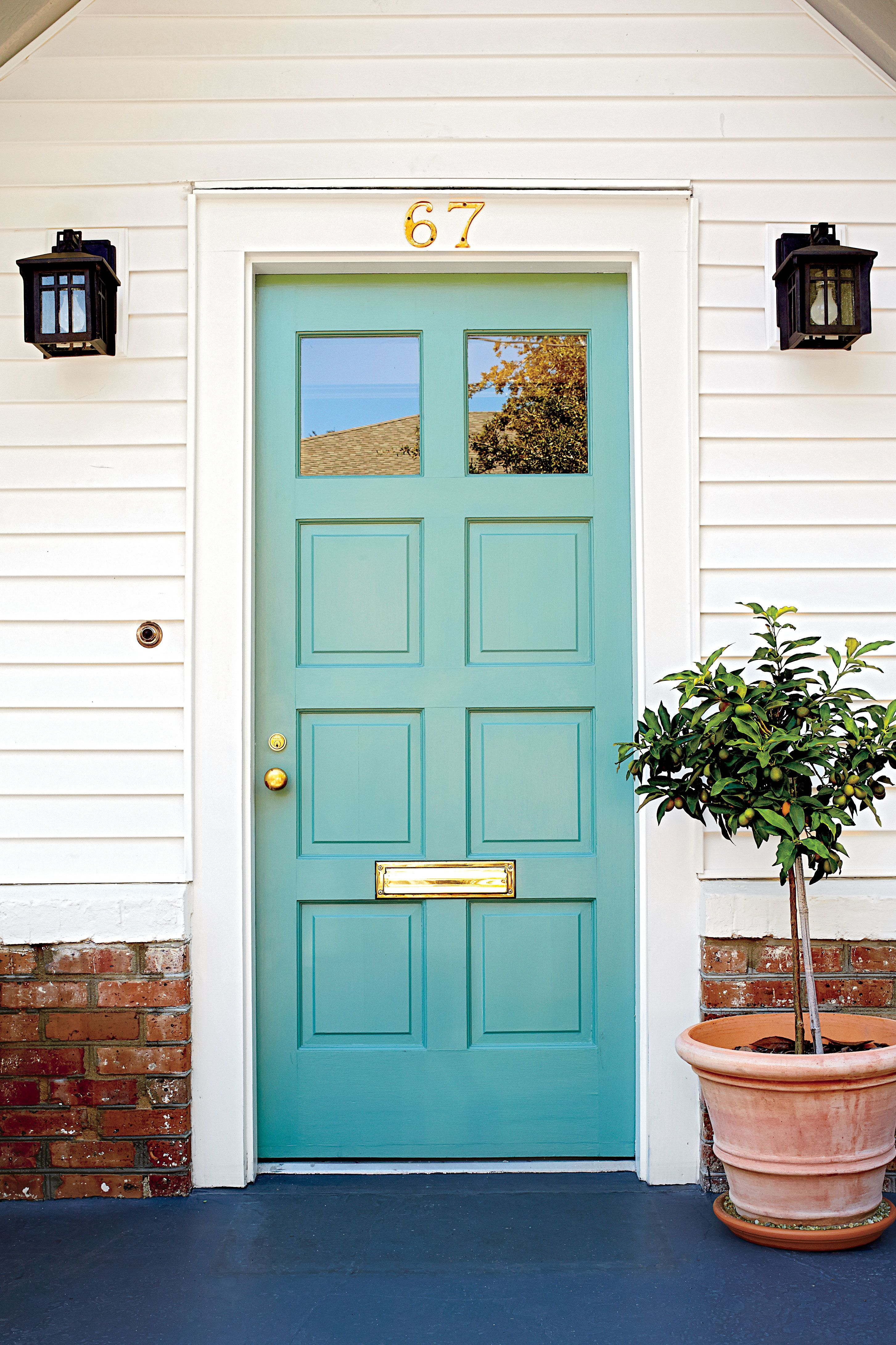 19 Bold Colors For Your Front Door Exterior Painted