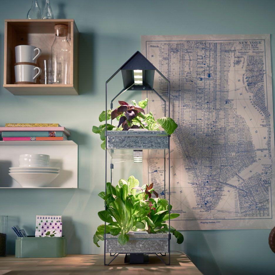 ikea introduce a hydroponic indoor gardening kit. Black Bedroom Furniture Sets. Home Design Ideas