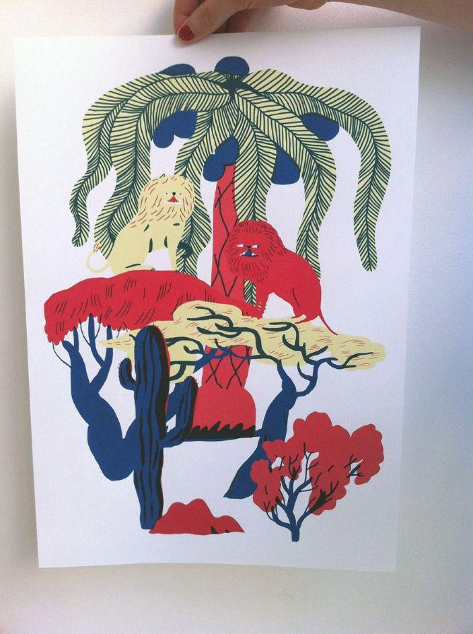 JUNGLE-POSTERS - Mari Kanstad Johnsen
