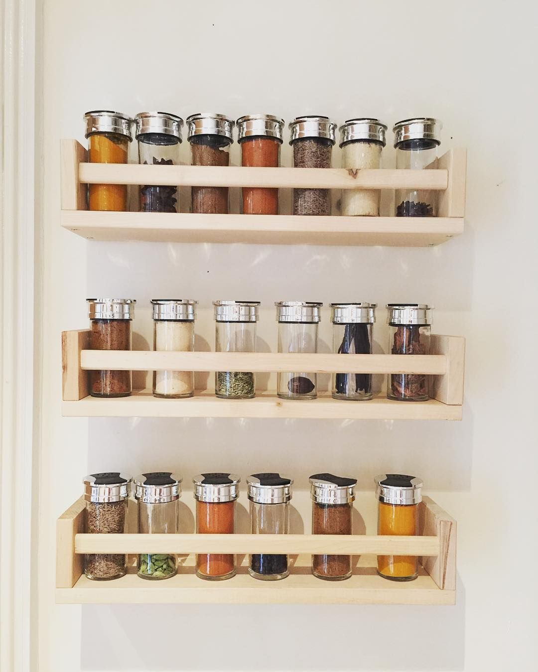 Spruce Up Your Kitchen With These Cabinet Door Styles: 27 Spice Rack Ideas For Small Kitchen And Pantry In 2019