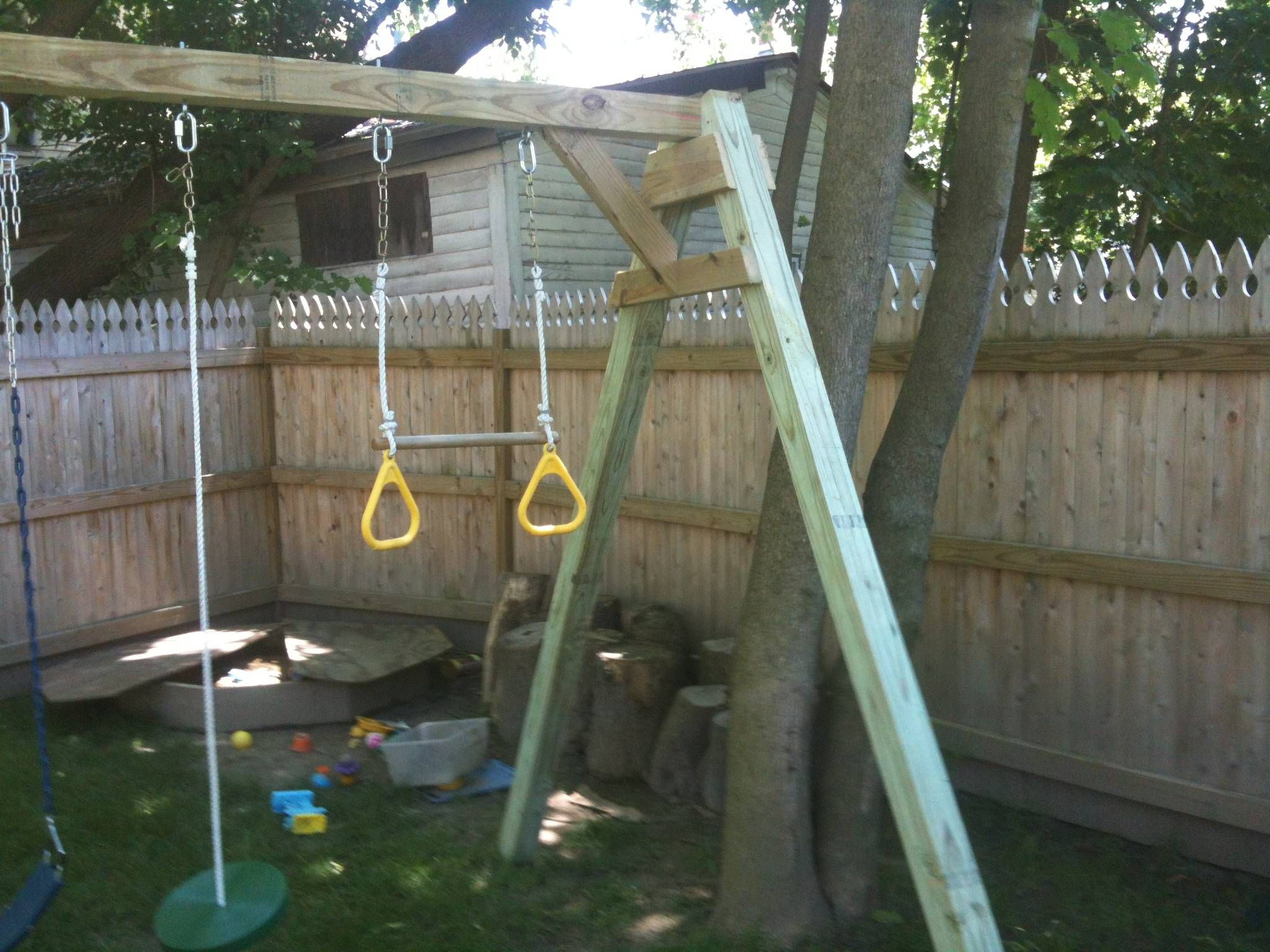 a frame swing set plans
