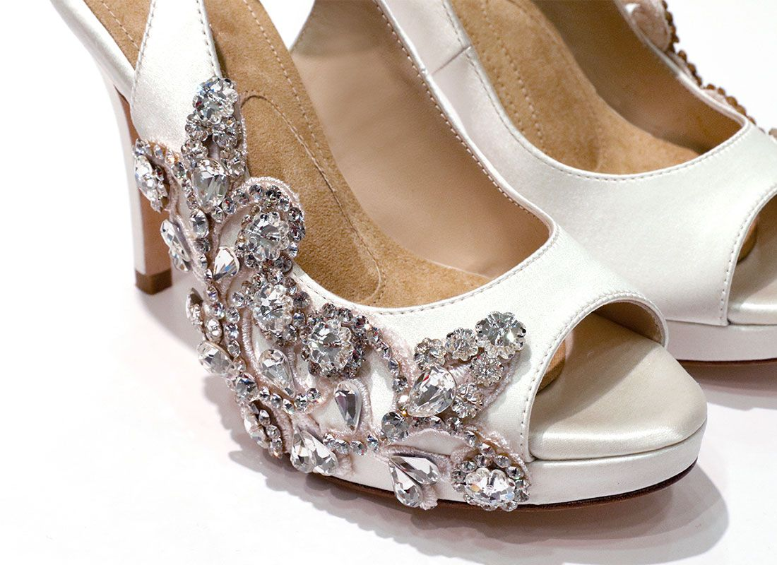 Pnina Tornai Christina Shoe Blog Pnina Tornai Wedding Shoe