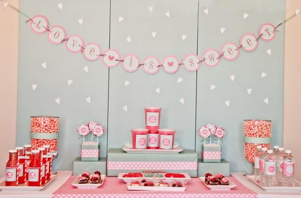 Hostess with the Mostess® - Valentine's Day Sweet Bar