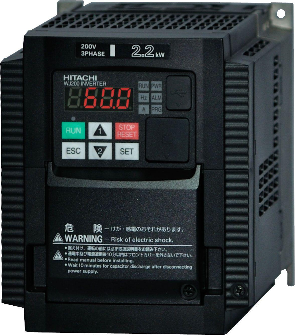 Hitachi wj200 vfd drives hitachi ac tech electric shock