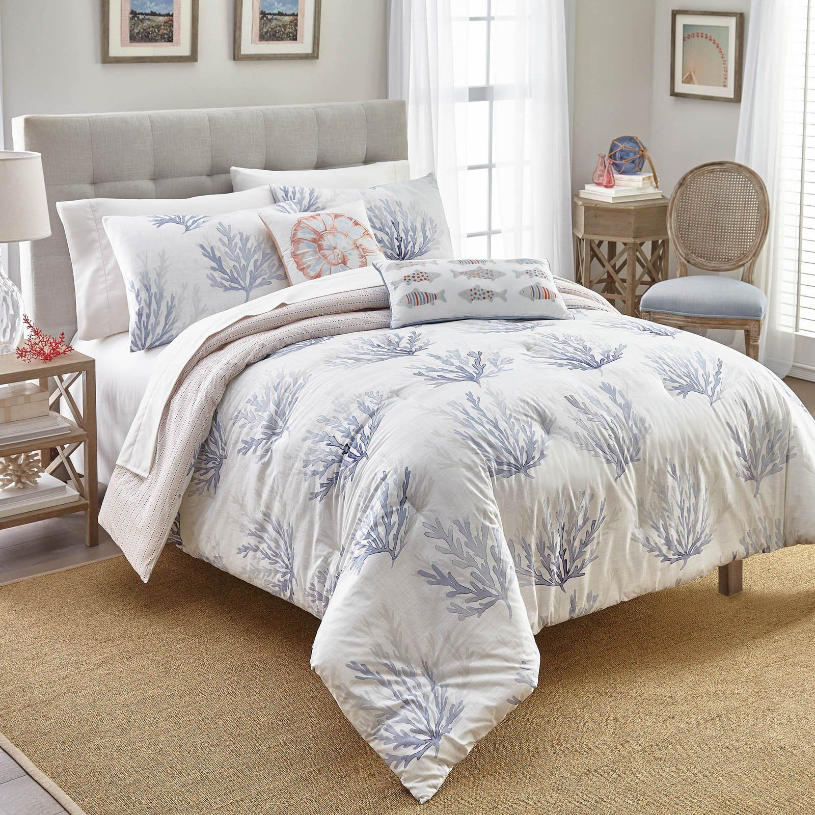 coastal beach pin shop sets bedding nautical comforter collections