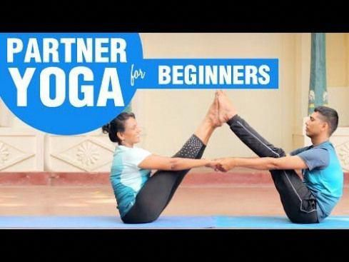 four advanced yoga poses with images  partner yoga