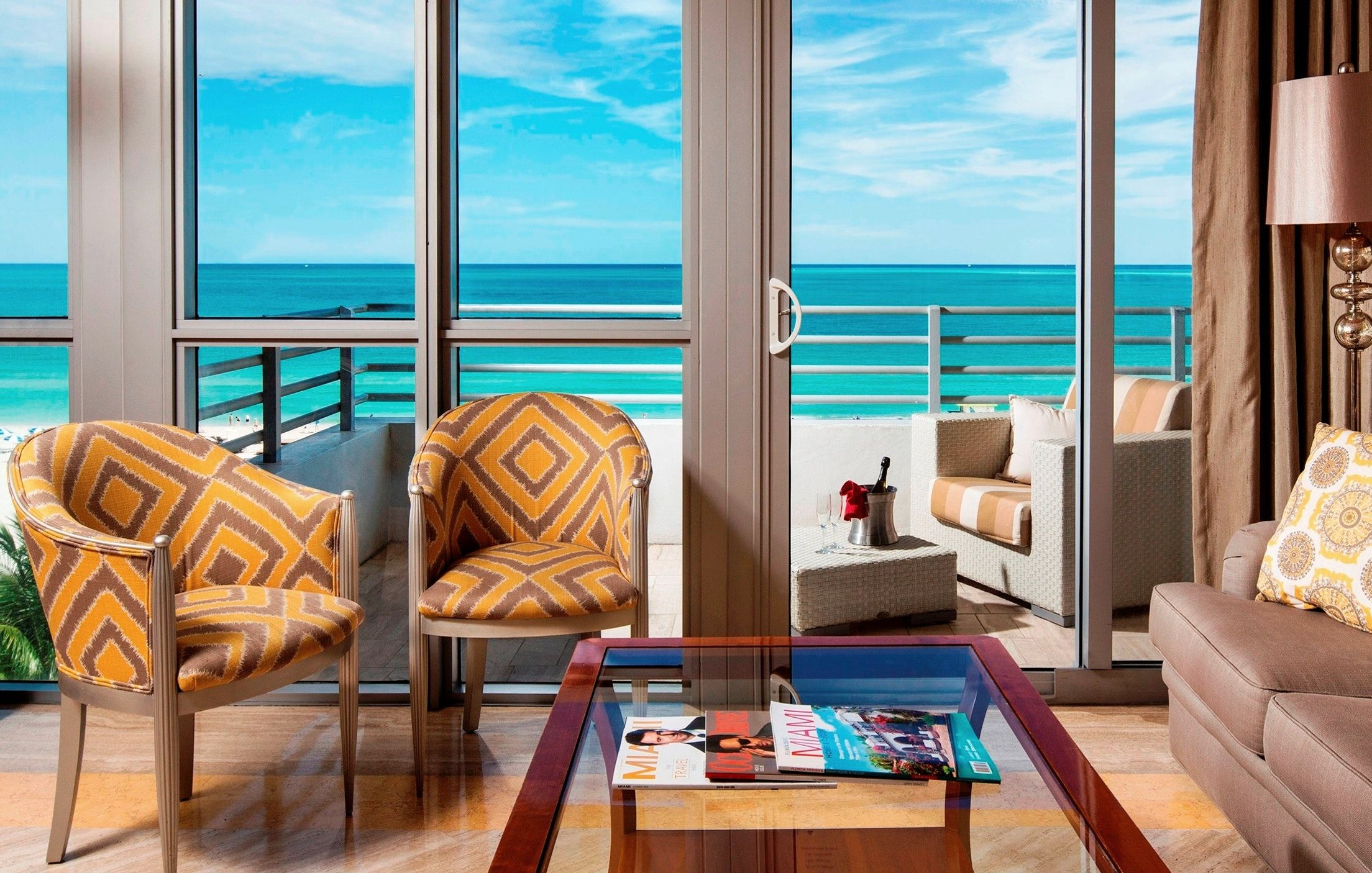 Book the Two Bedroom Suite Oceanfront at Hilton Bentley
