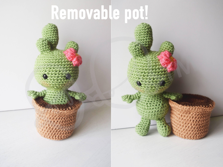 Free amigurumi pattern, free crochet pattern, free crochet cactus ... | 2250x3000
