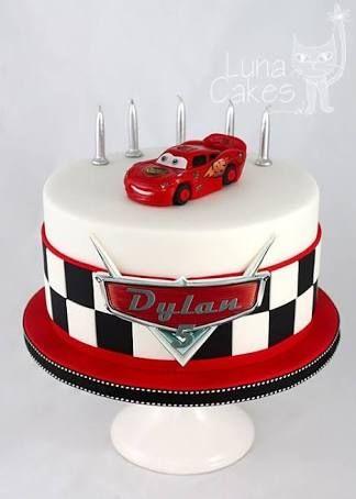 easy lightning mcqueen birthday cake Google Search Little Miss