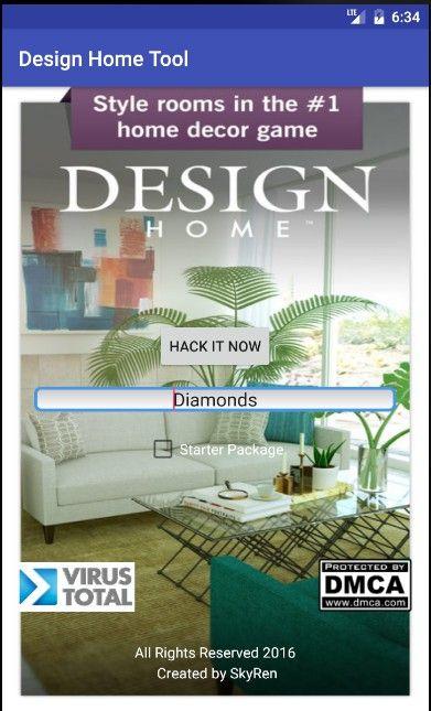 Design Home Cheat Apk