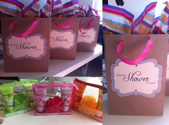 """Good Hostess Gifts For Wedding Shower: """"From My Shower To Yours"""""""