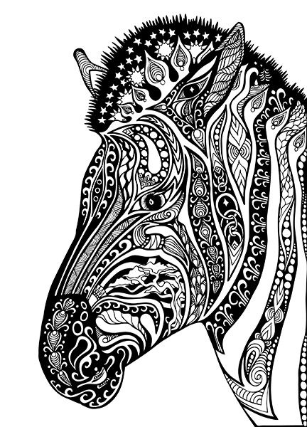 Coloring Book 2nd Edition Zebra Coloring Pages Coloring Pages Animal Coloring Pages
