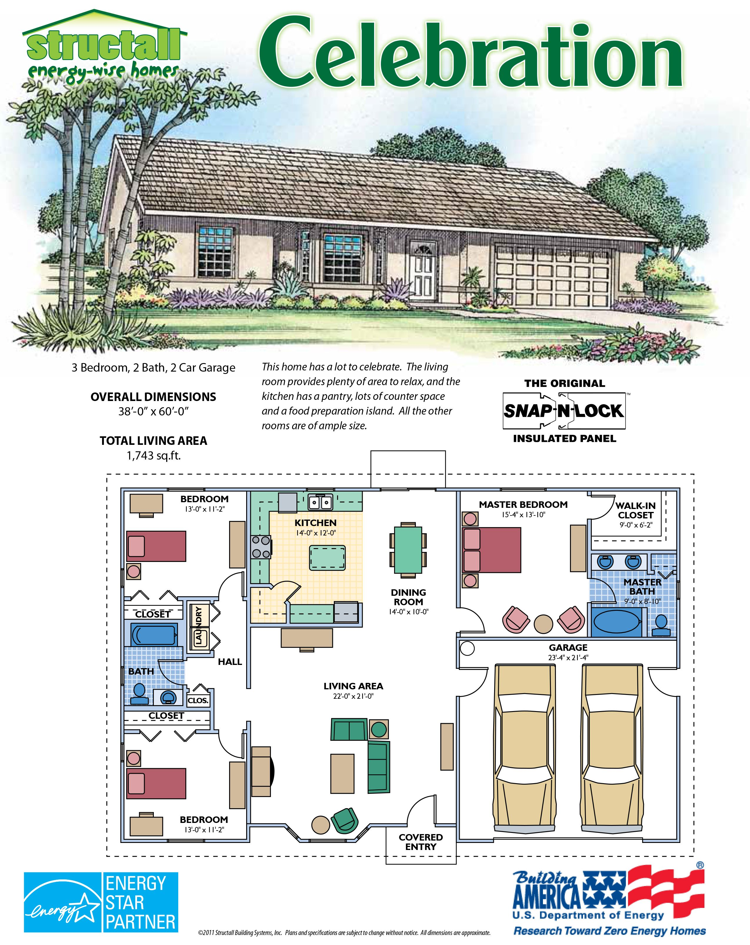 Structall Building Systems Inc Building Systems Structural Insulated Panels House Floor Plans