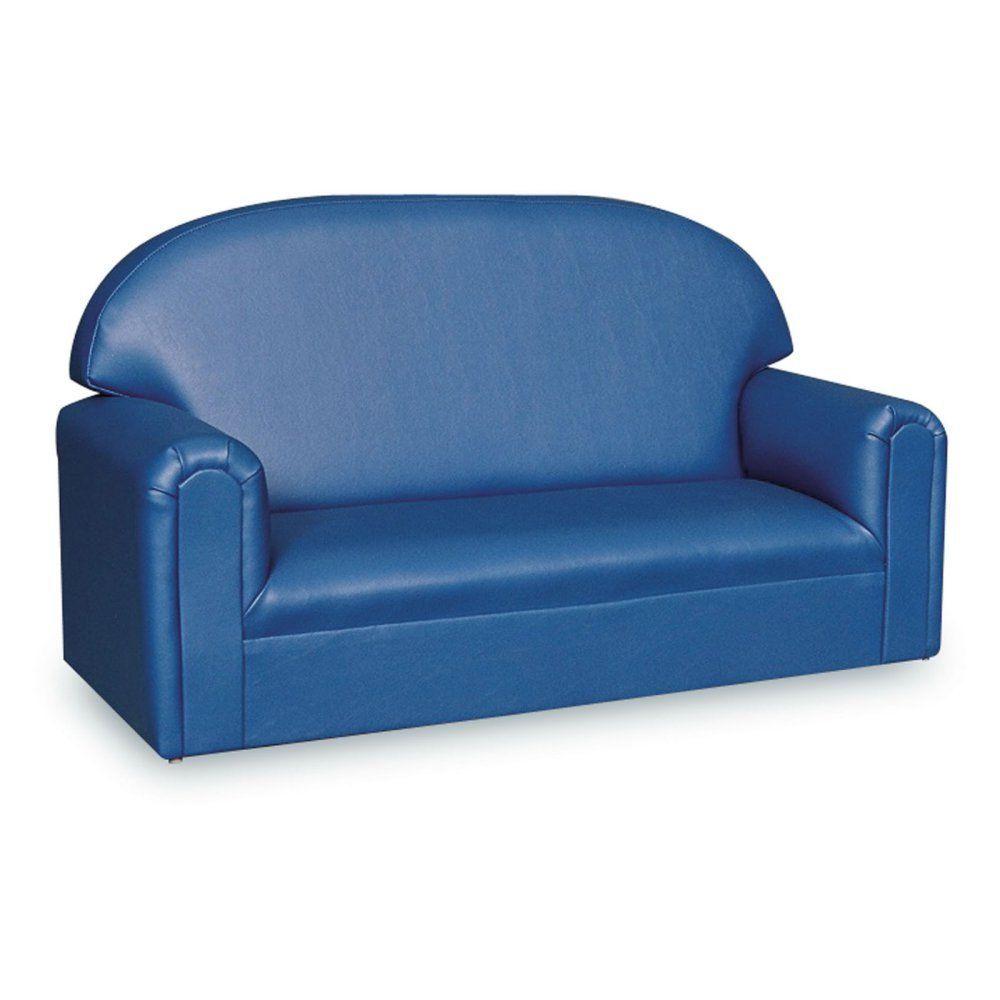 Genial Brand New World Vinyl Upholstered Toddler Sofa