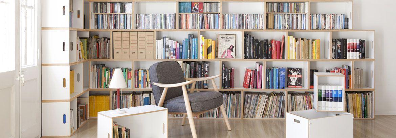 Brickbox Canada Modular Storage System Bookshelves Modern Shelving
