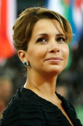 Jordanian Princess Haya bint Al-Hussein attends the Opening Ceremony for the World Equestrian Games 2014 in Caen, France