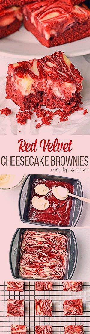Photo of Red Velvet Cheesecake Brownies
