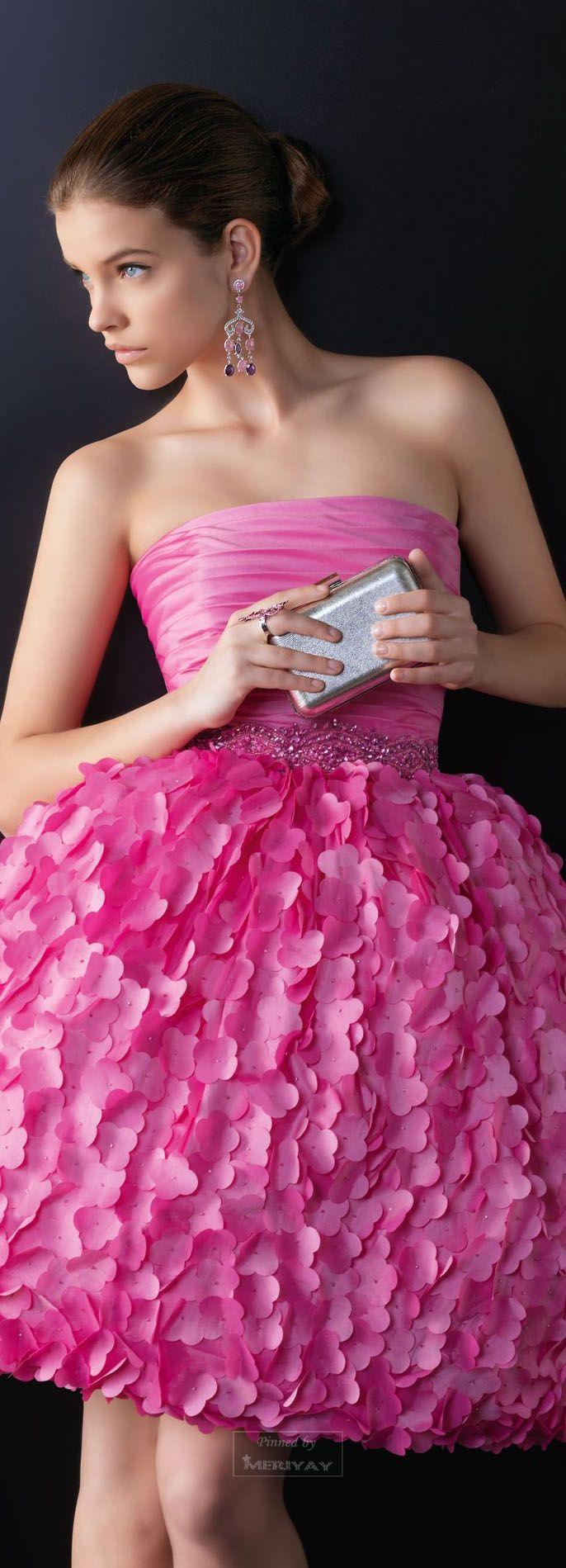Vestidos de novia y vestidos de fiesta | Pinterest | Rosa clará ...