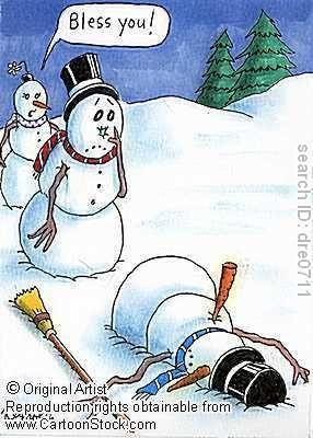 Sneezing Jokes The Happy Whisk When Snowmen Sneeze Funny Christmas Pictures Christmas Humor Christmas Jokes