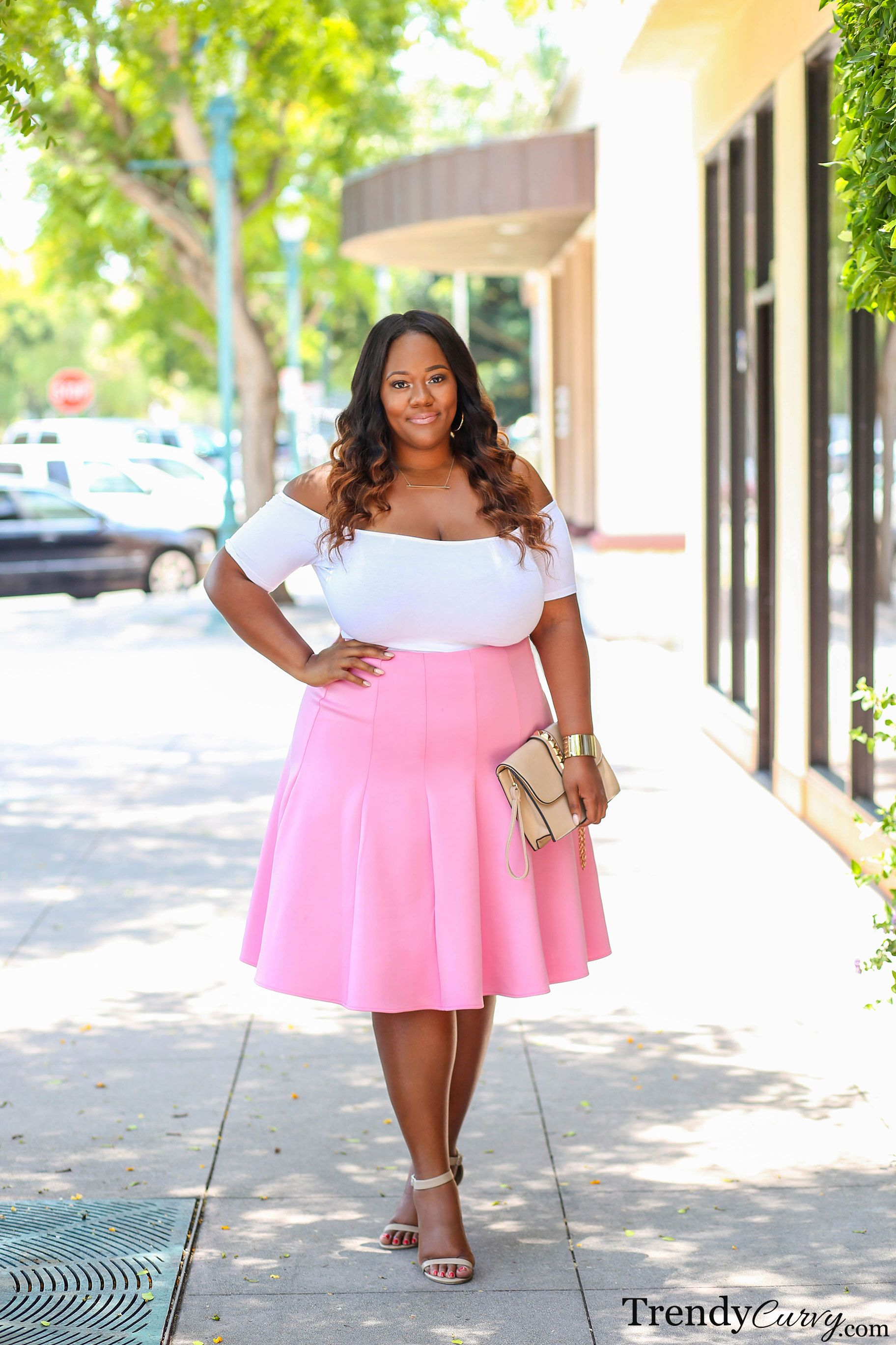 Think Pink | Plus Size Fashion | Curvy Girls | Pinterest | Moda ...