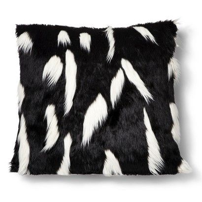 siberian shop pillows sonoma throws pillow accent covers wolf black faux williams cover fur home