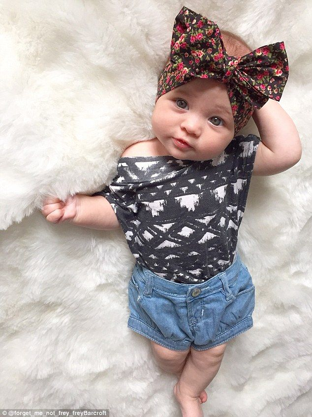 Britain S Most Stylish Baby 8 Month Old Has 5 000