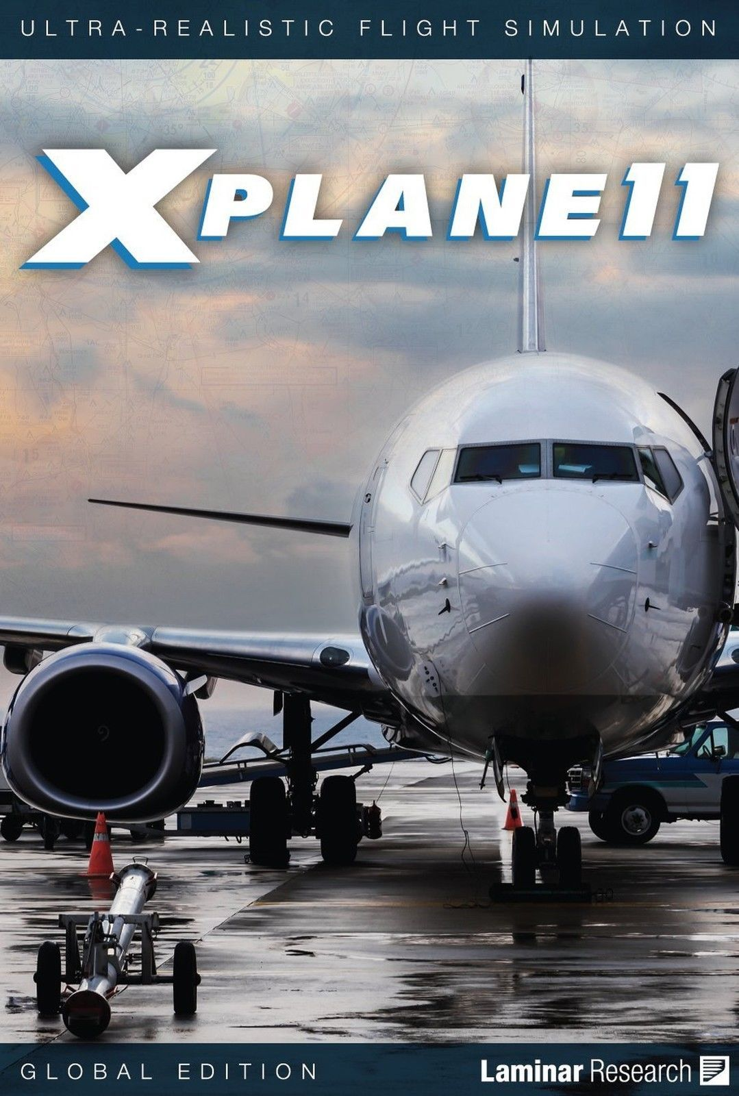 Details about X Plane 11 Global Edition PC MAC LINUX 8 DVD set NEW