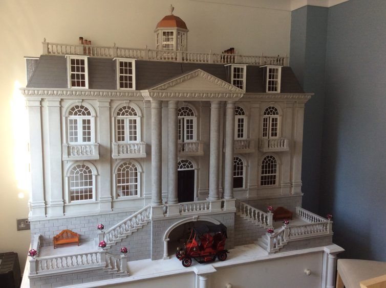 Georgian Dolls House By Emma Waddell Of Dolls House Grand Designs
