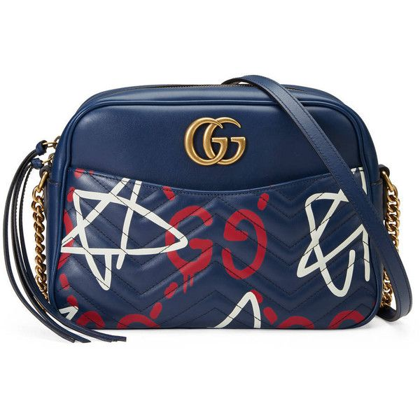 0573b18c7cf Gucci Gg Marmont Guccighost Shoulder Bag ( 1