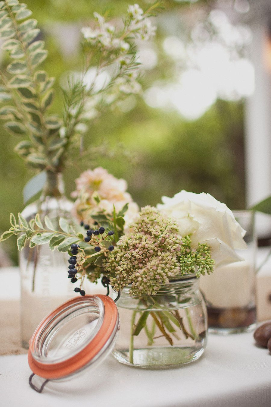 Historic cedarwood wedding from love is a big deal centerpiece