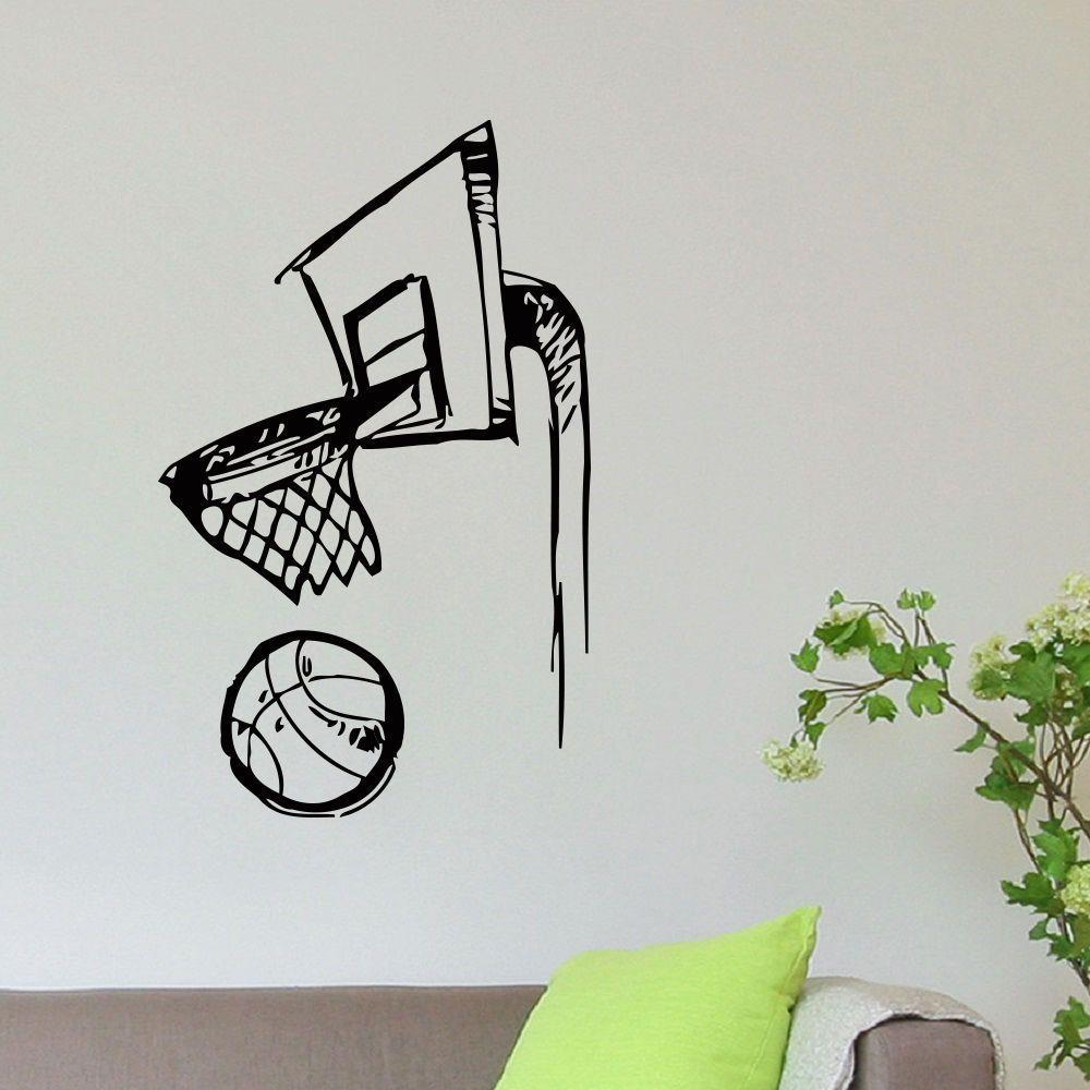 PEGATINA STICKER baloncesto basket autocollant AUFKLEBER vinyl decal vinilo