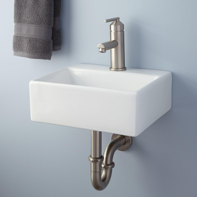 Corrie Mini Wall Mount Bathroom Sink Wall Mount Sinks Bathroom