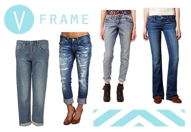 V Frame Denim | Fall Denim Guide for Your Body Type | Fashion for ...