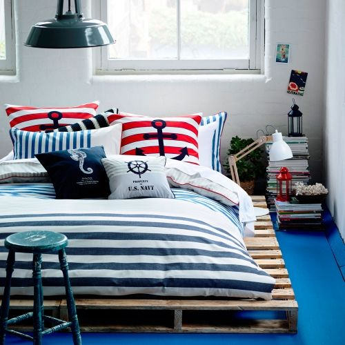 Cottesloe is a great way to add a beach theme to your bedroom! Quilt Covers & Coverlets Cottesloe Bedroom