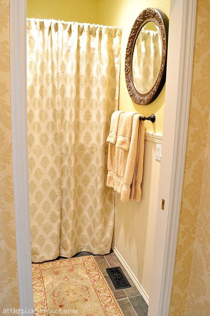 French Country Bathroom Makeover | Bathroom kids, Bedskirts and ...