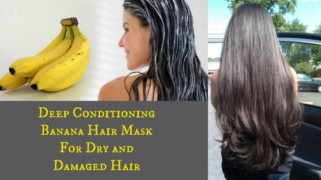Diy Deep Conditioning Banana Hair Mask For Dry Damaged Hair
