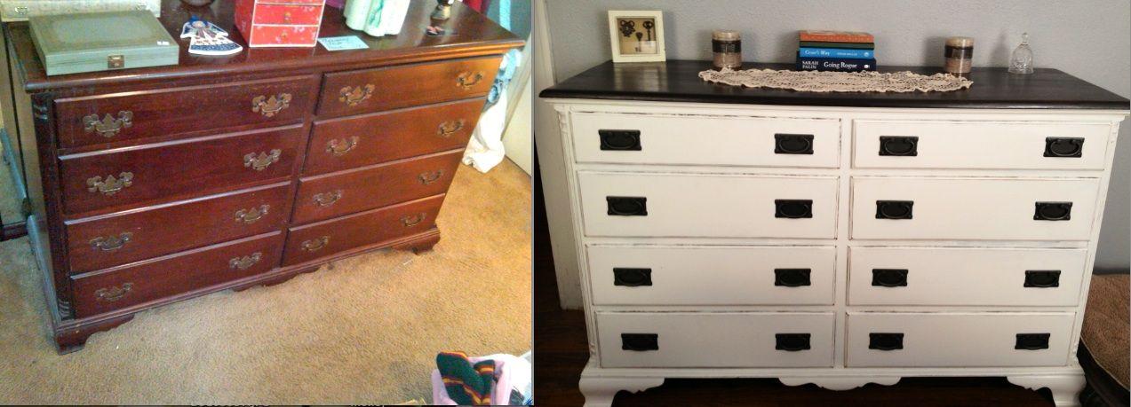 GREAT BLOG!  Little House in the Big D: Estate Sale Dresser turned Money Maker