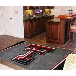 Texas Tech University 5 X 8 Area Rug Carpet Floor Rugs Rugs On Carpet Plush Area Rugs