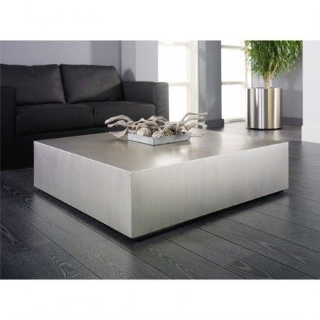 Salontafel Wit Blok.Rvs Salontafel Giani Rosi V 110 Giani Rosi Huis Sofa Tables
