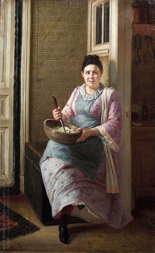 The Kitchen Maid By Firs Sergeyevich Zhuravlev With Images