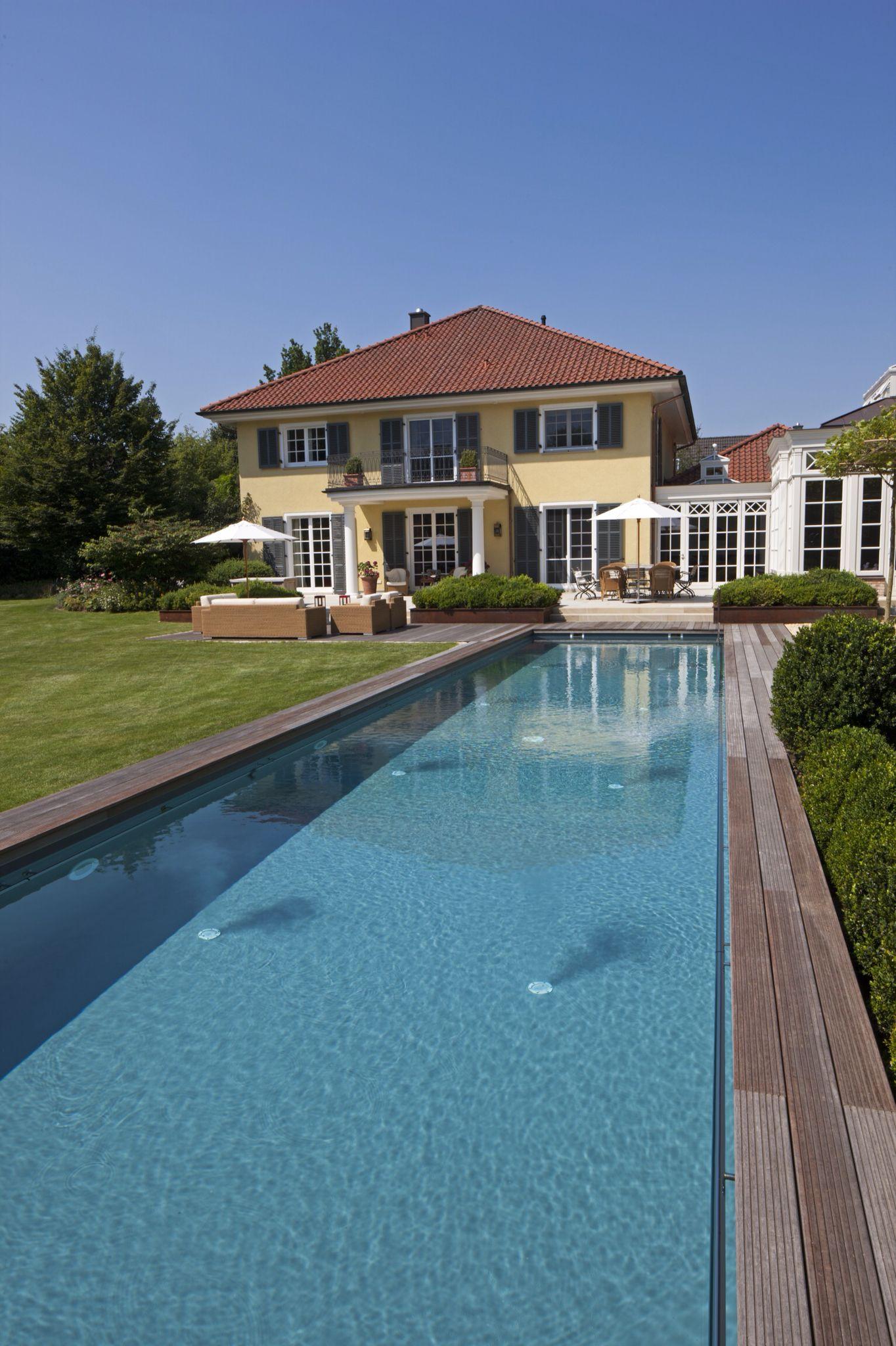 pool mit salzelektrolyse salzwasser pool im garten harms. Black Bedroom Furniture Sets. Home Design Ideas
