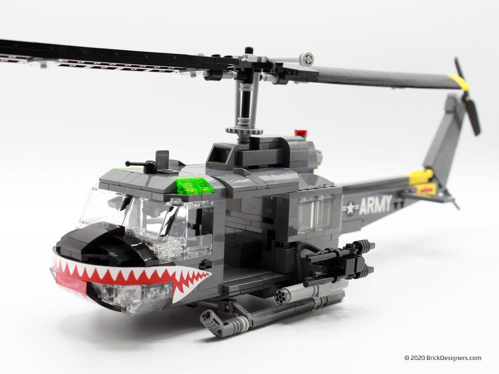 Lego Helicopter Gunship