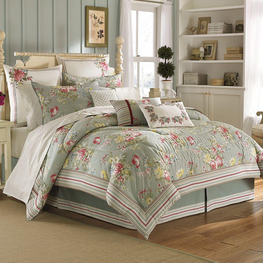 laura ashley romantische slaapkamer