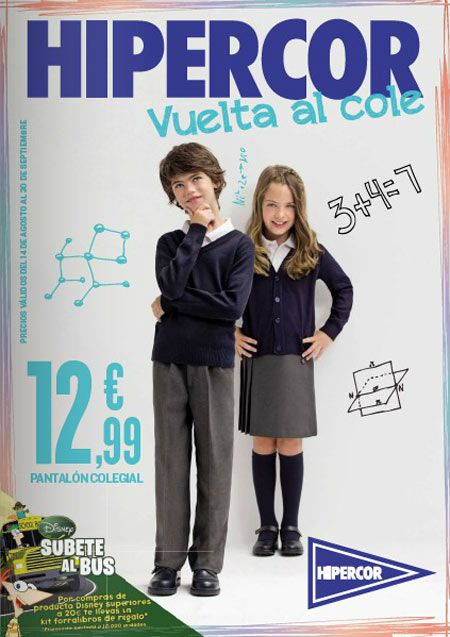 Catalogo Hipercor Vuelta Al Cole Moda 2012