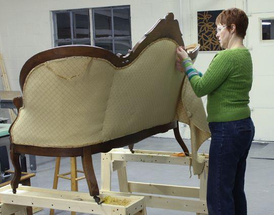 Reupholster Antique Sofa