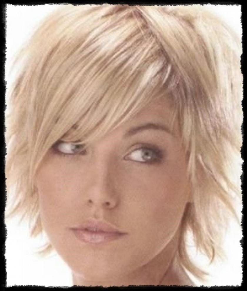 short hairstyles for fine hair short layered haircuts for
